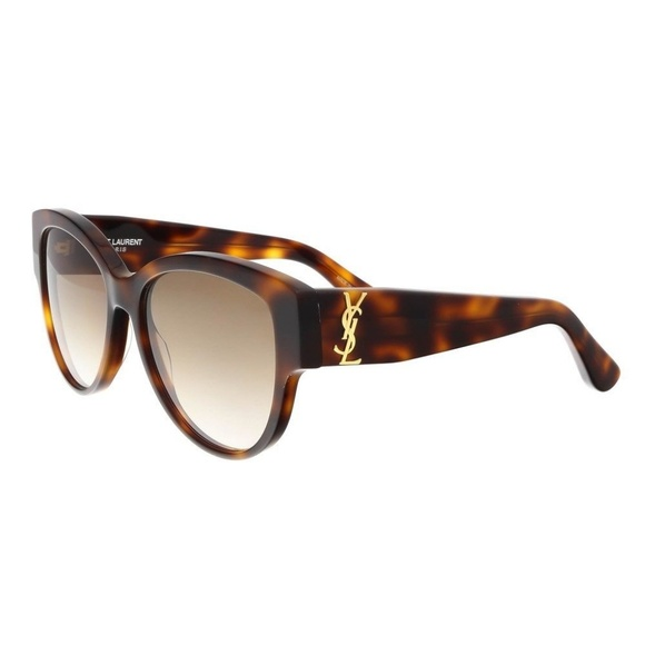 17e36cf592 AUTHENTIC YSL SL M3 005 Havana Brown Sunglasses